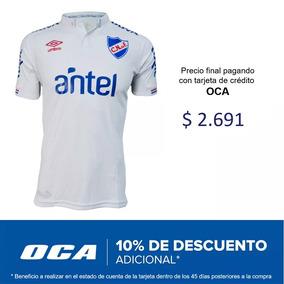 Camiseta Blanca Nacional 2019 Adulto Con Sponsors