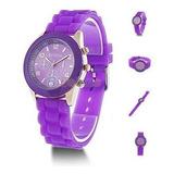 Lote X 4 Relojes De Mujer Geneva Ideal Para Re Vender.