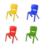 Silla Para Niños Plastico Inyectado Colores Calidad Premium