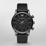Reloj Emporio Armani Correa Cuero Negro
