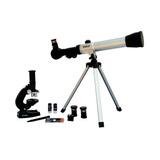 Vivitar Kit Telescopio Y Microscopio Telmic-20 - Mosca