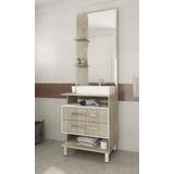 Mueble De Baño Con Pileta Y Espejo Calidad Excelente Hts