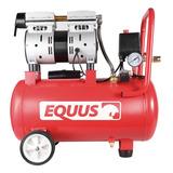 Compresor 1hp 24 Litros Sin Aceite Premium Equus