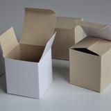 Caja De Cartón Pequeña 6 * 6 * 6,5 Cm Ideal Regalos Pequeños