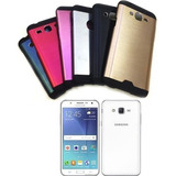 Funda Protector Aluminio Premium Para Samsung Galaxy J5 J500