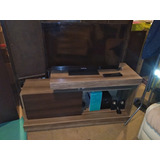 Rack Con Tv Lcd 32 Y Chrome Cast