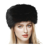 a28b69c096c7a Lovful Invierno Mujeres Piel Sintética Rusa Cossack Estil