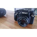 Cámara Zenit 122 Con Lente Helios 44m - 6