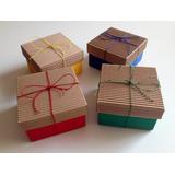 Cajas De Cartón En Colores Para Souvenirs Golosinas Regalos