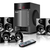 Home Parlantes Subwoofer Bluetooth Usd Sd Fm Tv Klip Xtreme