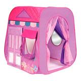 Carpa Boutique Infantil Rosa Con Cortinas Y Espejo En Loi