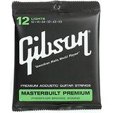 Cuerdas De Guitarra Acústica Gibson Masterbuilt Premium P