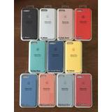 Silicone Case Original X Mayor Para iPhone Todos Los