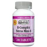 B-complex Stress Mins B Qualivits 100 Tabletas