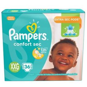 Pampers Confort Sec Xxg (+14 Kg) - X36