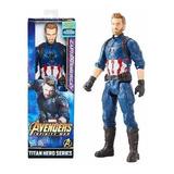 Figura 12 Avergers Infinity War Hasbro Capitan America