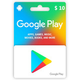Tarjeta Digital Google Play 10 Usd- Mercado Uy