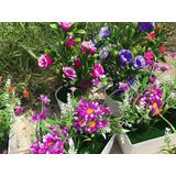 Flores Decorativas Artificiales.