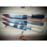 Cuchillo Artesanales Gardeliano 20 Cm De Hoja Cabo De Guampa
