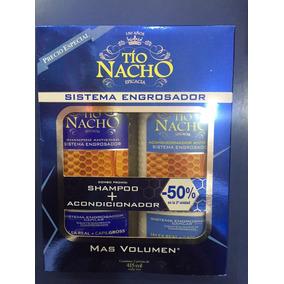 Tio Nacho Pack Shampoo+acond. 415ml Engrosador