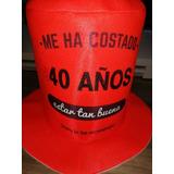 Galera Personalizada Cotillon Fiestas Sombrero 15 Cumpleaños