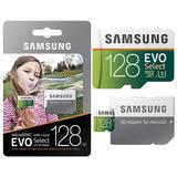 Memoria Microsd 128gb Samsung Evo,4k, Gopro, Nintendo