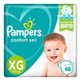 Pampers Confort Sec Xg (12 A 15 Kg) - X48