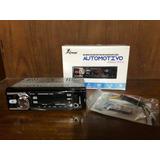 Radio Auto Con Fm Usb Sd Aux In 50x4 Con Opción Bluetooth