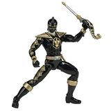 Figura De Acción Power Rangers Dino Thunder Black, Black Ran