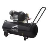 Compresor De Aire 100l 3hp + Kit 5 Accesorios Panther