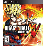 Dragon Ball Z Xenoverse Juego Ps3 Original Play 3 + Español