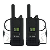 Cobra Px500 Business Radio 2 Pack Bundle With Ga Sv01 Heads