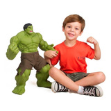 Muñeco Muneco Accion Super Heroe Marvel Hulk 52cm Original