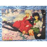 Inuyasha Kagome Lámina Cuadro 51x35 //posters Anime