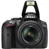Nikon D5300 Kit 18-55 Vr / 24mp / Wifi / Gps / Mejor A D5200