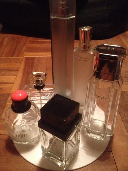 Frascos Vacios De Perfumes Importados (centro)
