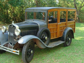 Ford Woody 30-permuto Por Cabaña De Madera