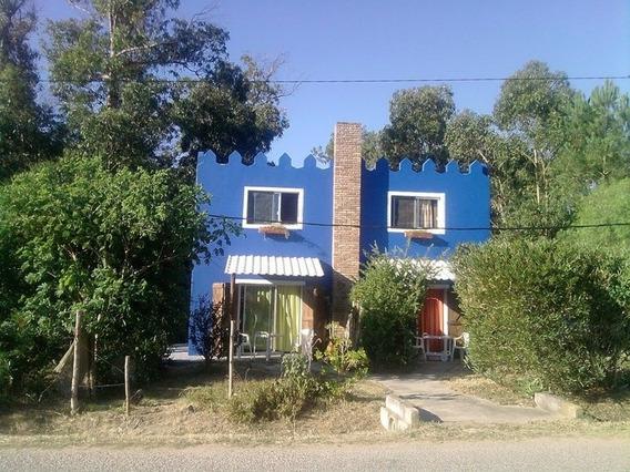 Casa C/vista Mar, P/4 Pers,completa,a 1 Playa, Bajada Ppal.