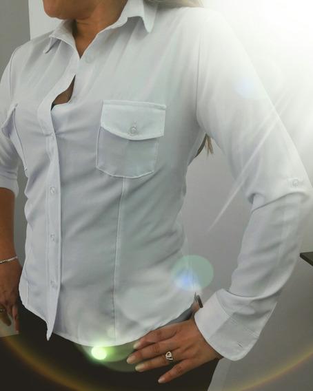 Camisa Clásica De Dama