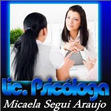 Lic. Psicologa. Primera Consulta Sin Cargo. Psicoterapia.