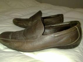 Excelentes Zapatos De Cuero Marca Zara Originales