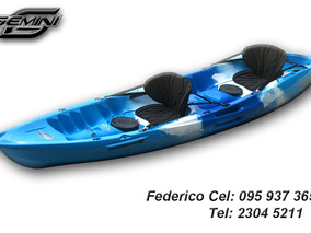 Kayak Feelfree - Gemini 2 Adultos 1 Niño
