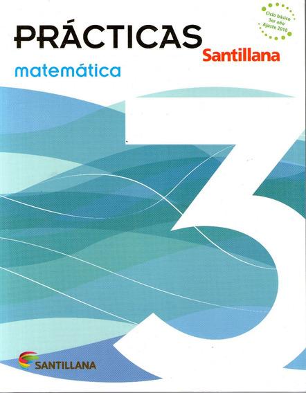 Libro: Prácticas Matemática 3 / Santillana