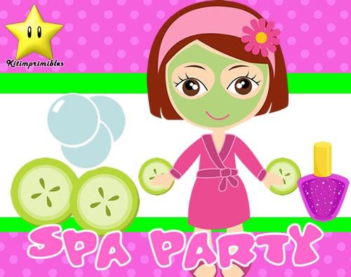 Invitaciones Spa Party Diseñá Tarjetas Cumples Y Mas