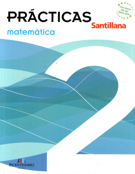Libro: Prácticas Matemática 2 / Santillana
