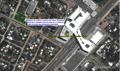 Alquiler De Solar 1.100m², S/aerosur A 100 Mts De Shopping