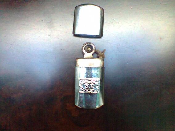 Antigua Baliza O Mechero A Alcohol Con Encendedor