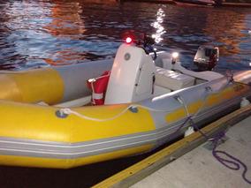 Semirrigido Kiel 460 2014 Con Motor Suzuki 40hp Y Trailer