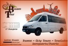 Traslados Transporte De Pasajeros Fiestas 24hs Blancotour