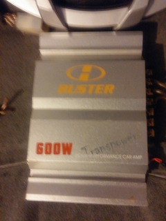 Potencia Buster 600w